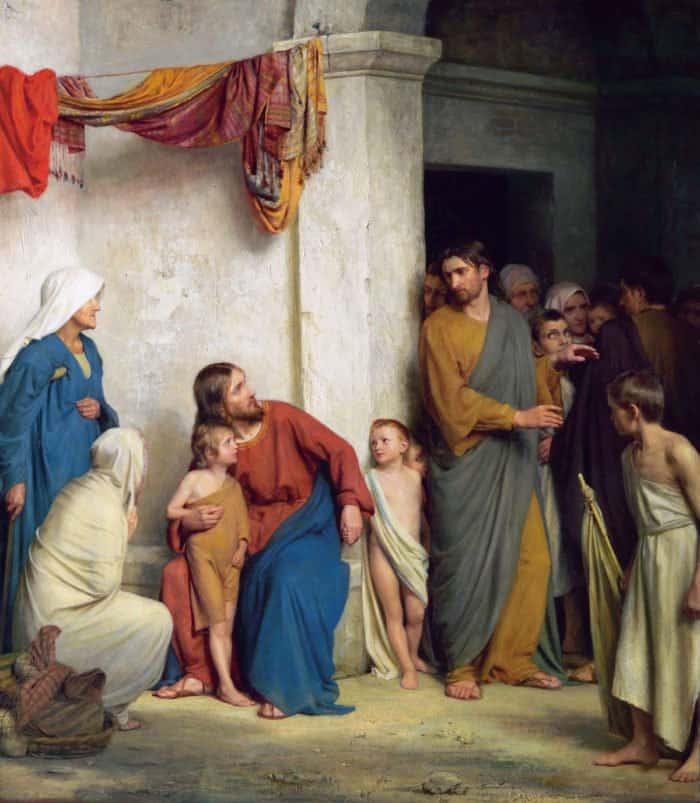 О мытаре и фарисее