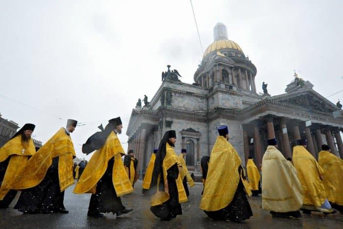 Крестный ход у Исаакиевского собора: как это было - фото 3