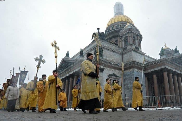 Крестный ход у Исаакиевского собора: как это было - фото 6
