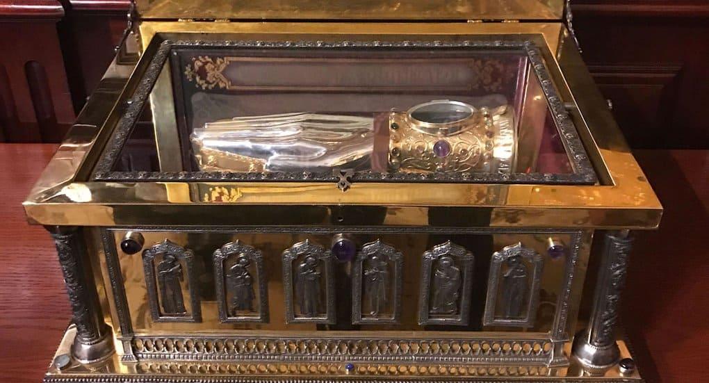 Осенью 2017-го по США провезут ковчег с мощами патриарха Тихона