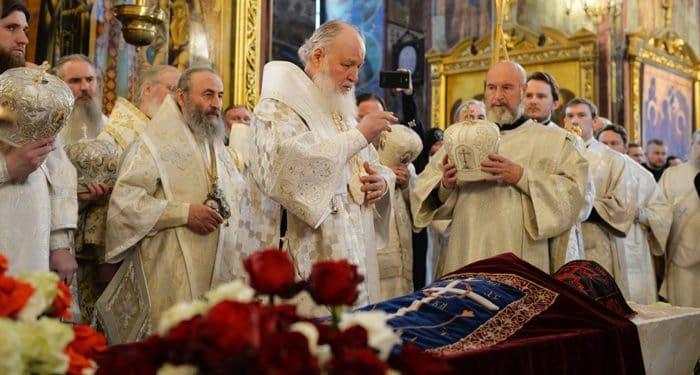В Троице-Сергиевой лавре простились с отцом Кириллом (Павловым)