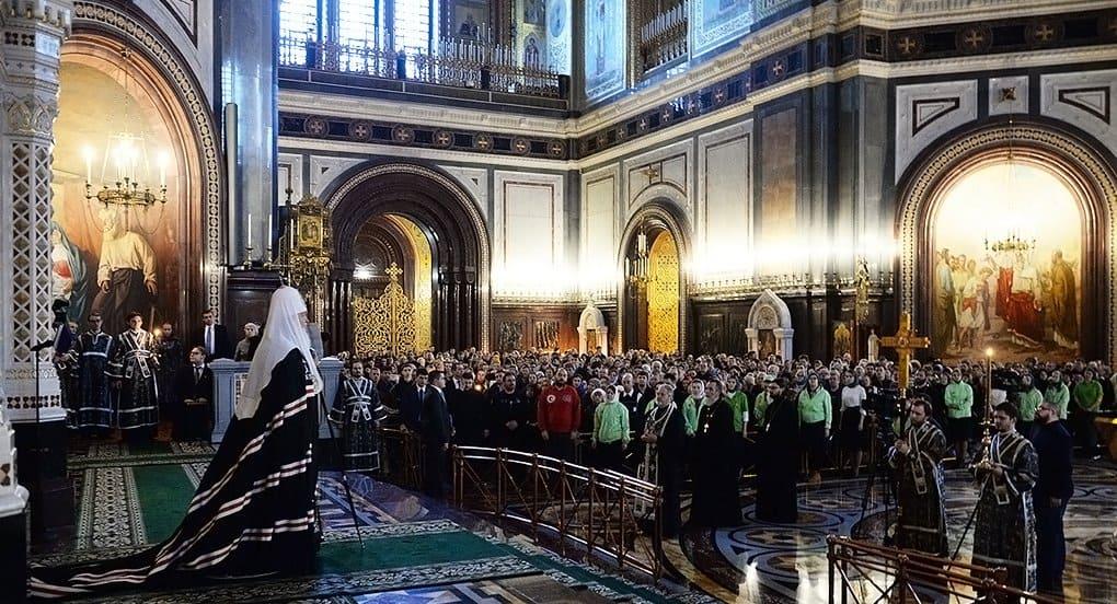 Великий пост - попытка изменить свое душевное состояние, - патриарх Кирилл