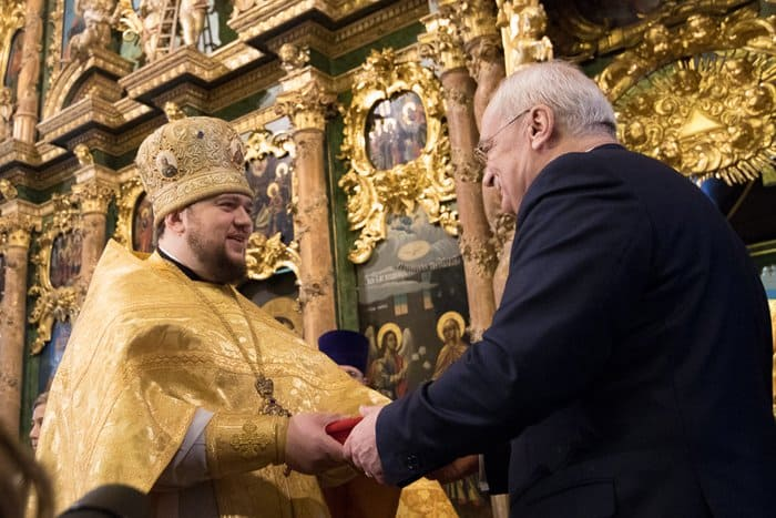 Церкви передали ключи от Сампсониевского собора Петербурга