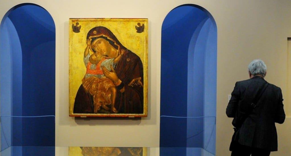 Третьяковка показывает христианские шедевры Византии