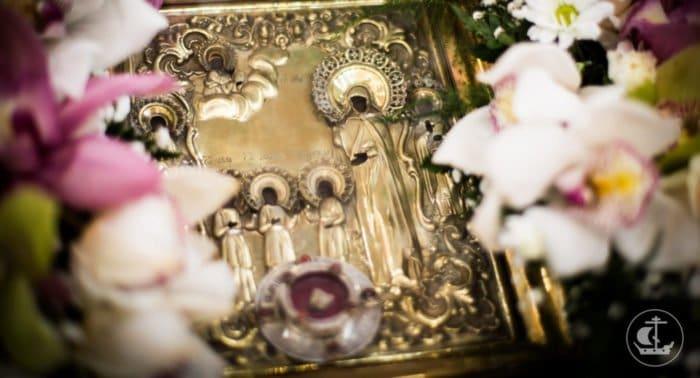 Мощи мучениц Веры, Надежды, Любови и матери их Софии принесут в Данилов монастырь
