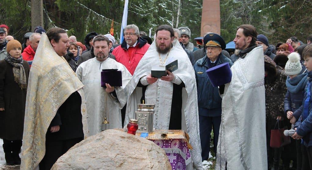 На месте гибели Юрия Гагарина заложили часовню