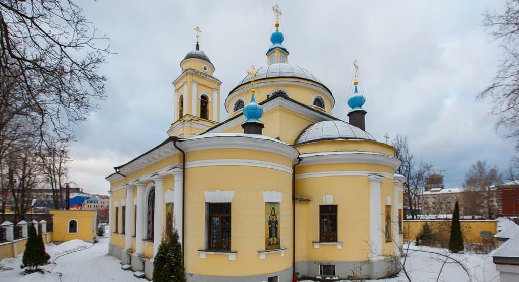 Церкви вернули столичный храм на старинном Миусском кладбище