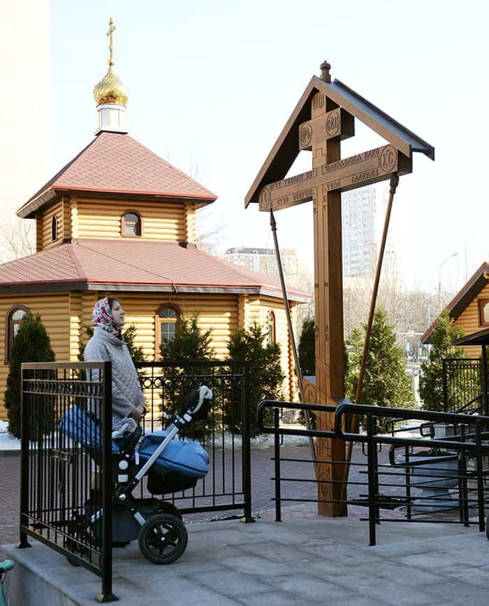 Патриарх Кирилл освятил в Черемушках храм в честь Всех русских святых