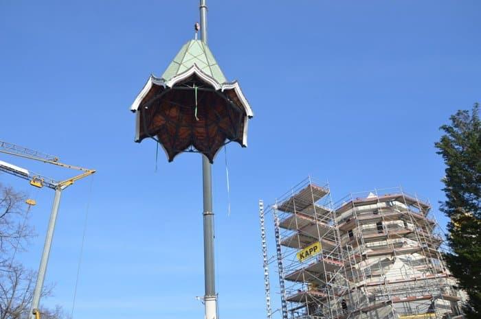 Купола из России украсили строящийся храм в Страсбурге