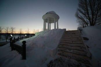 Беседка Островского. Фото Владимира Ештокина