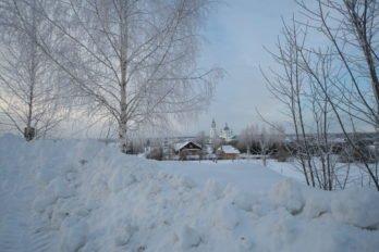 Село Ножкино. Фото Владимира Ештокина