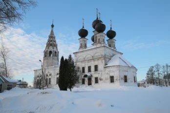 Церковь Воскресения Христова. Сусанино. Фото Владимира Ештокина