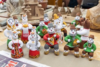 Kargopol-toys-singing_ Center of crafts Bereginya