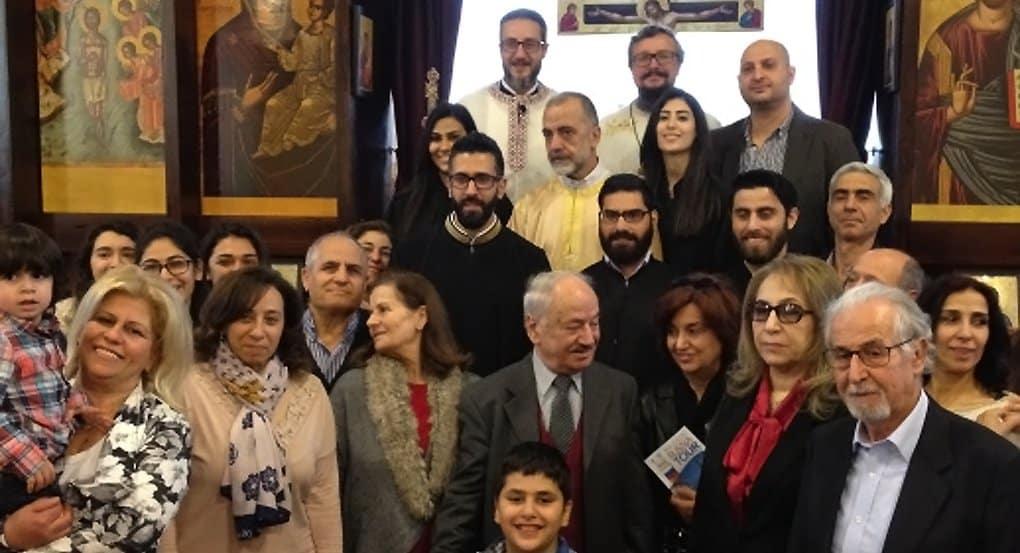 В ливанской деревне помолились на церковнославянском языке