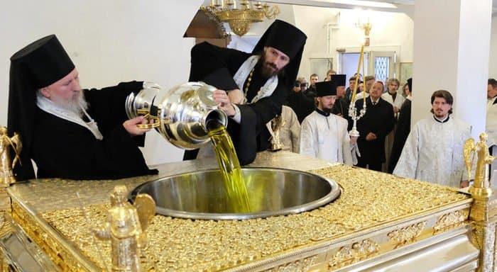В Русской Церкви сняли ролик о 10 фактах мироварения