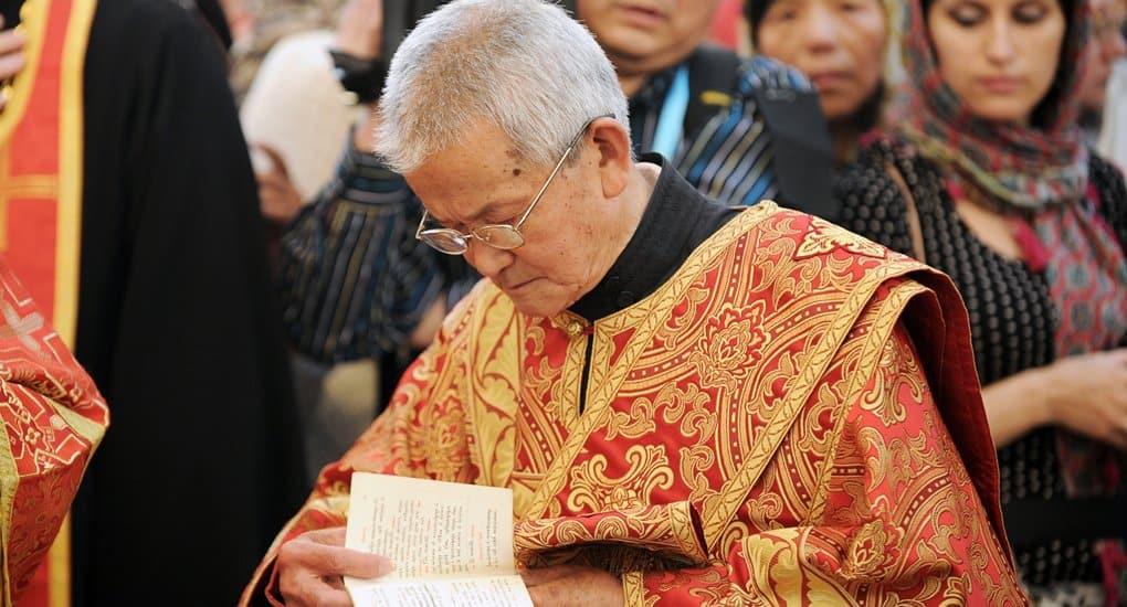 Храню в сердце воспоминания о встрече с отцом Евангелом Лу, - патриарх