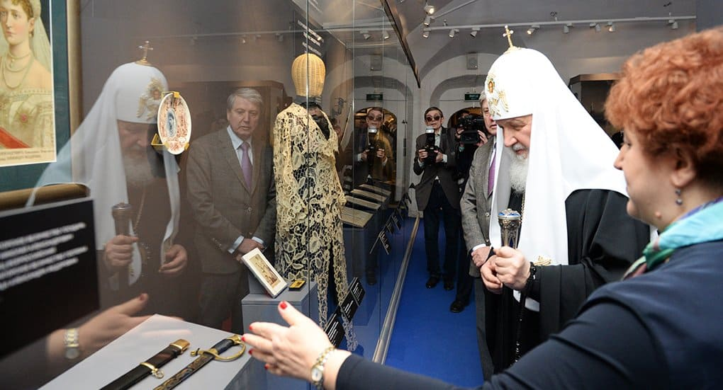 Патриарх Кирилл выступает за сотрудничество Церкви с музейным сообществом