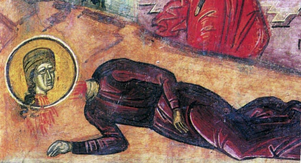 Церковь вспоминает преподобномученицу Евдокию