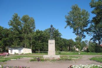 Памятник Петру I. Stassats