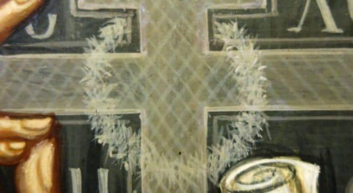 На иконе святого Серафима Вырицкого явился терновый венец