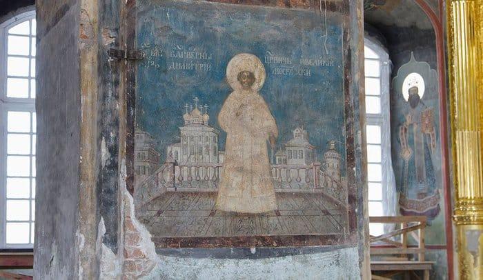 Минкультуры подумает о восстановлении живописи Тульского Кремля