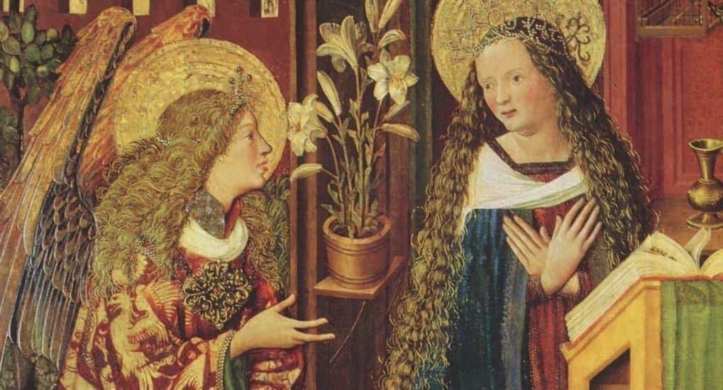 Благовещение приходится на пост, почему Дева Мария зачала в пост?