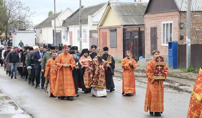 В чеченском селе заложили храм в честь святой Варвары