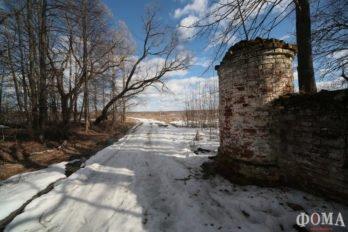 Ограда Благовещенского погоста
