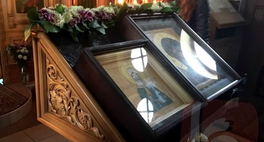 В Белгороде мироточат иконы Матроны Московской и Луки Крымского