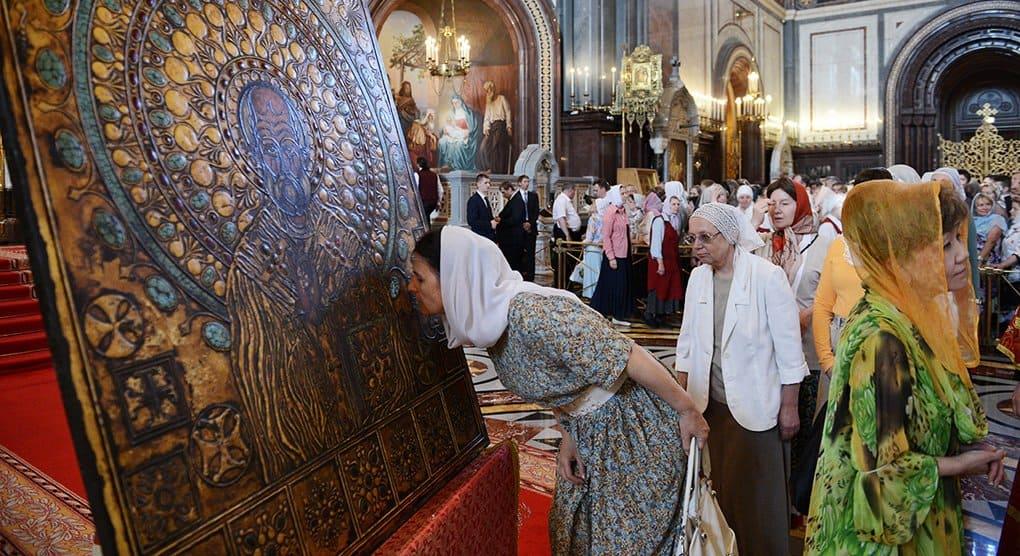 Мощам Николая Чудотворца можно будет поклониться в Москве и Петербурге