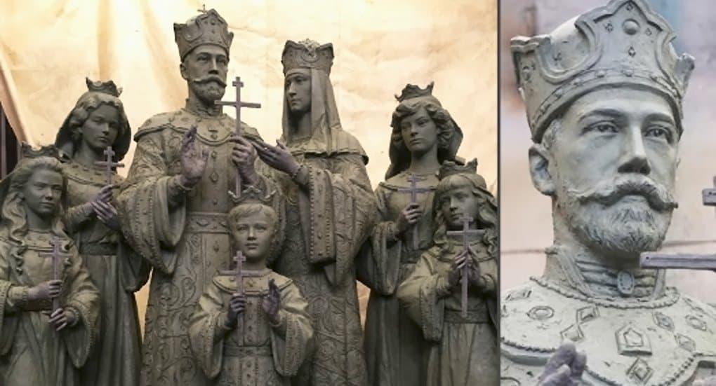 Одобрен макет памятника царской семье для Дивеево