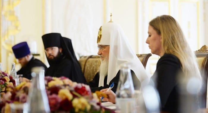 У христианских Церквей высокий миротворческий потенциал, - патриарх