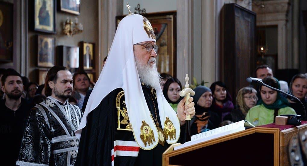 Расписание служб патриарха Кирилла на Страстной седмице и на Пасху