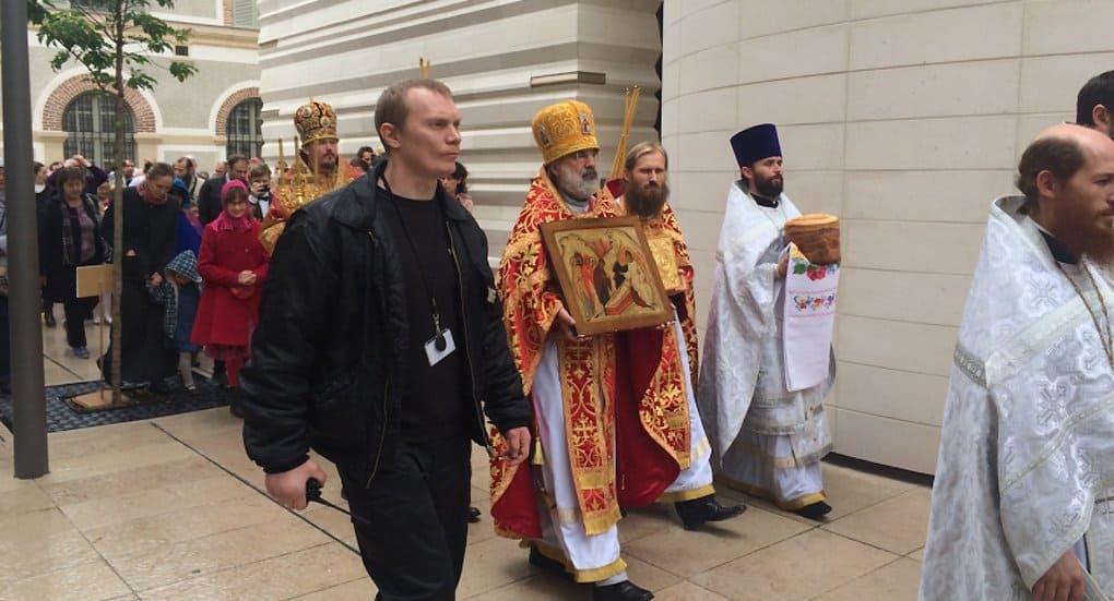 В Русском духовном центре Парижа впервые отпраздновали Пасху