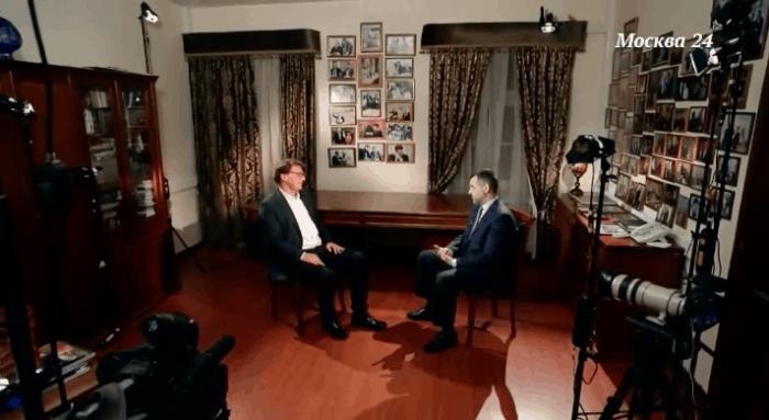 Владимир Легойда в программе «Важная персона» на телеканале «Москва 24»