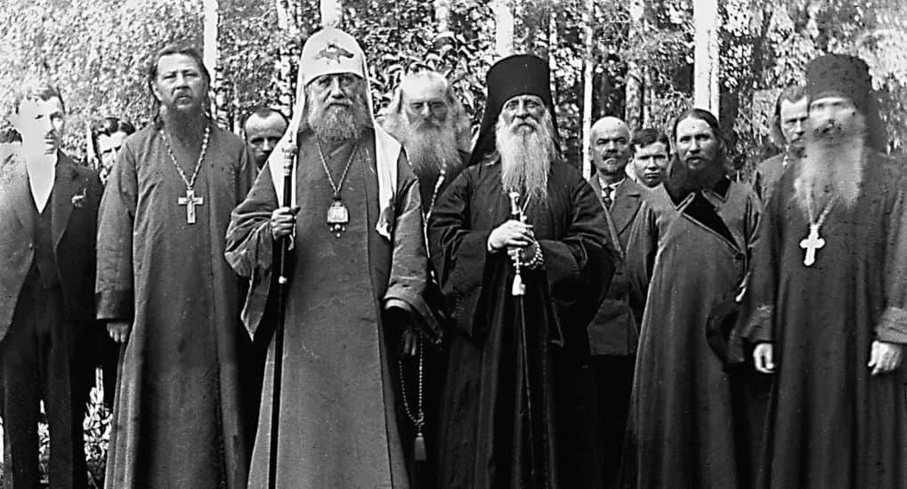 Редкие фотографии патриарха Тихона представили в Москве