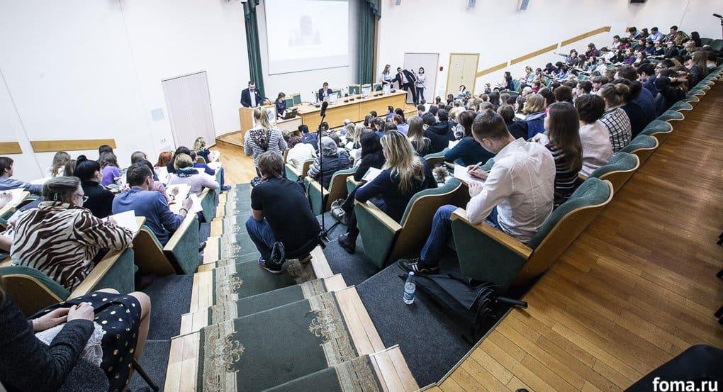 Владимир Легойда прочитал тотальный диктант о реке Селенга