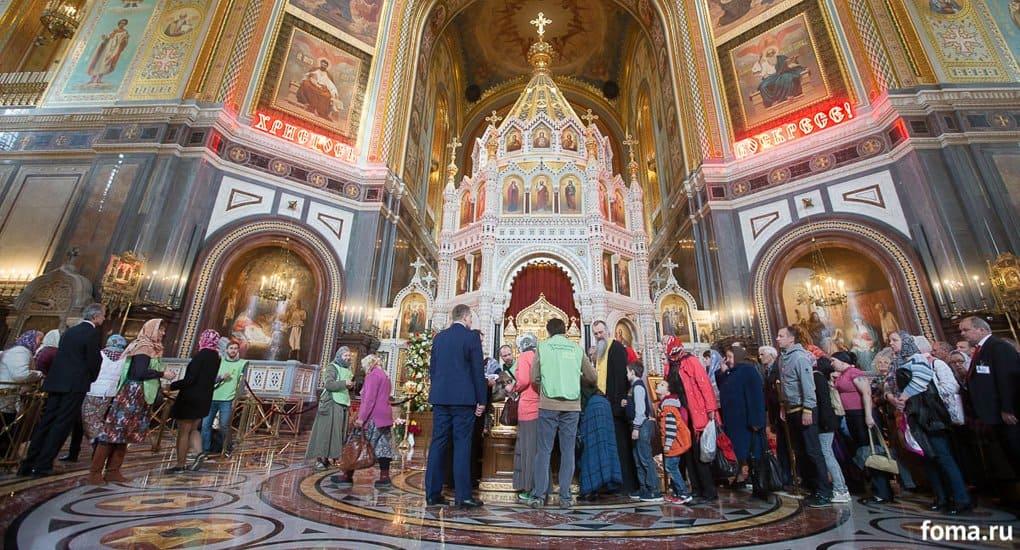 Мощам Николая Чудотворца в Москве поклонились около 250 тысяч человек