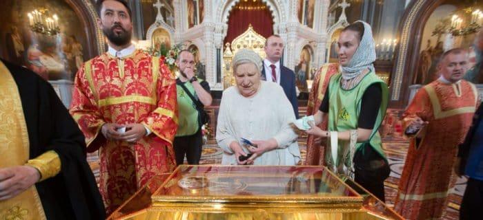 Правила посещения мощей Николая Чудотворца в Петербурге