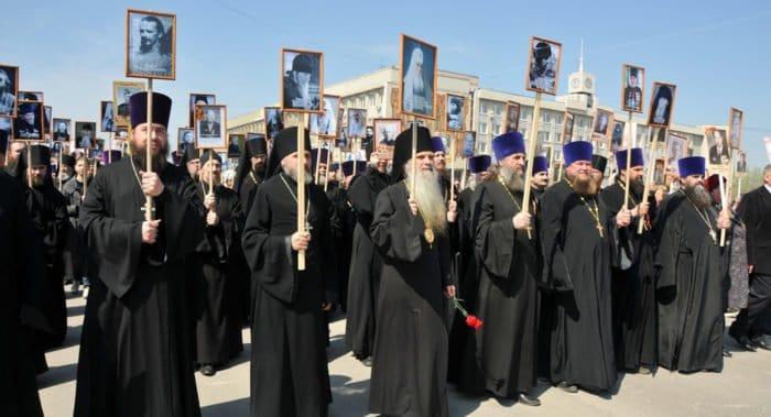 «Бессмертный полк» Русской Церкви