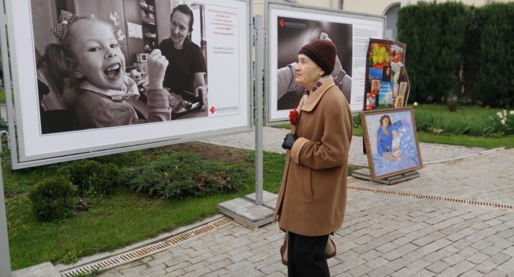 Выставка фотографа «Фомы» Владимира Ештокина открылась на Поклонной горе