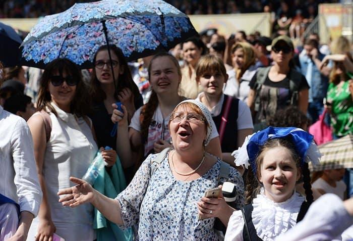 День славянской письменности отметили большим концертом на Красной площади