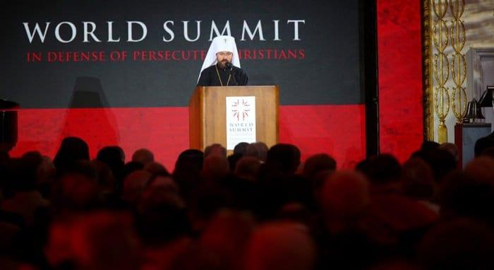 В мире замалчивают масштабы гонений на христиан, - митрополит Иларион