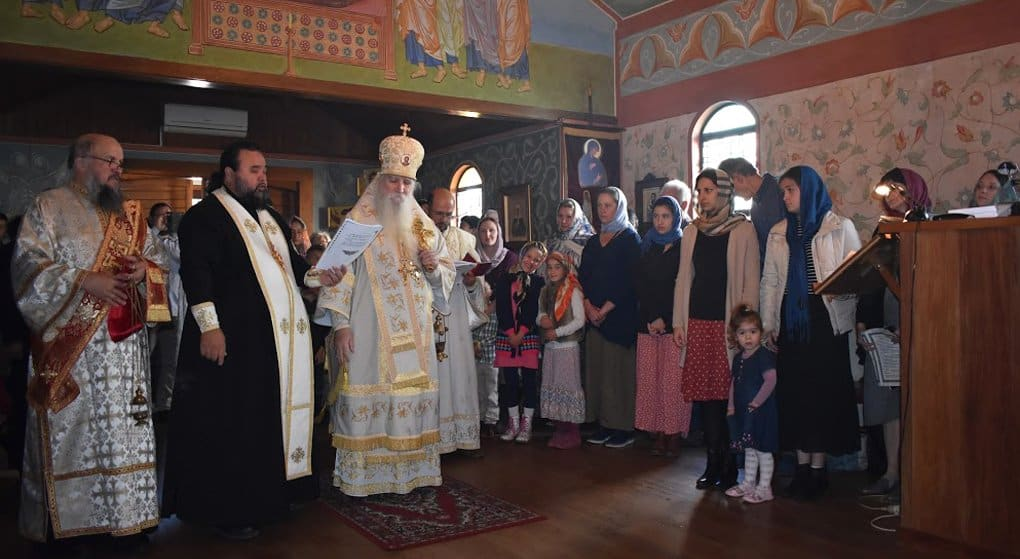 В Новой Зеландии освятили православный храм