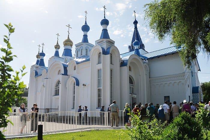 В свой первый визит в Киргизию патриарх Кирилл освятил собор в Бишкеке