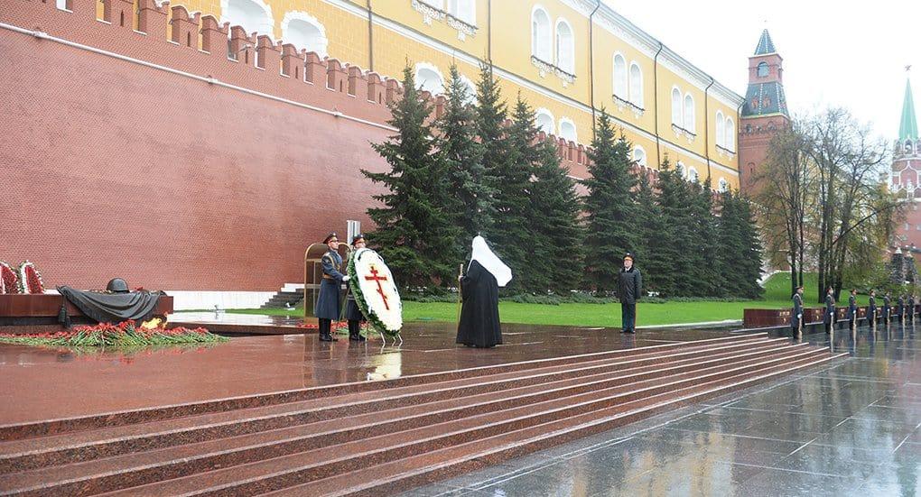 Патриарх Кирилл почтил память погибших в Великую Отечественную