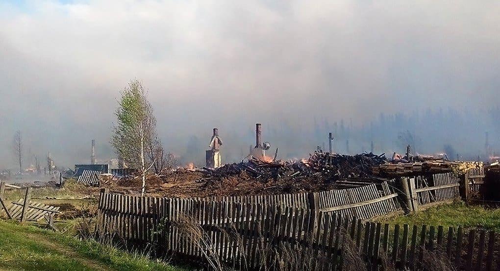 Церковь помогает пострадавшим от пожаров в Красноярском крае