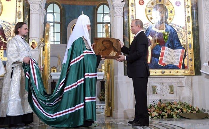 Россию невозможно представить без духовного опыта Русской Православной Церкви, - Владимир Путин