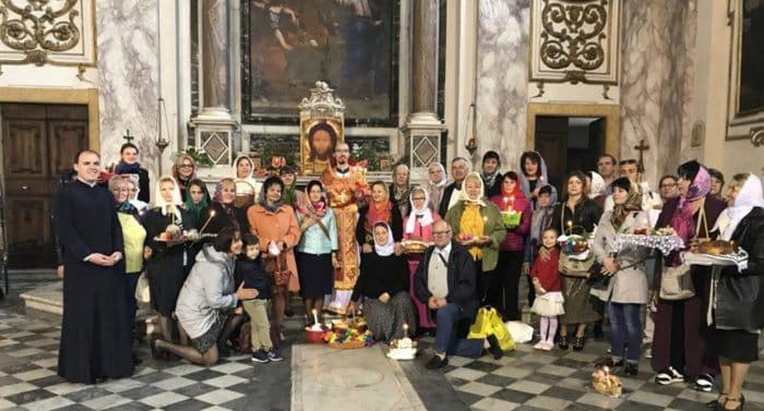 У православных украинцев в Италии появился свой приход