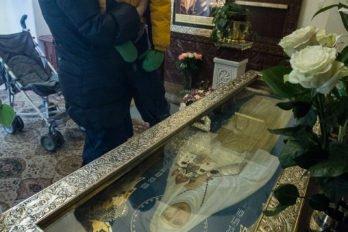 Мария Владимировна сПетей умощей преподобномученицы Елизаветы. Во время прогулок детей часто завозят вхрам